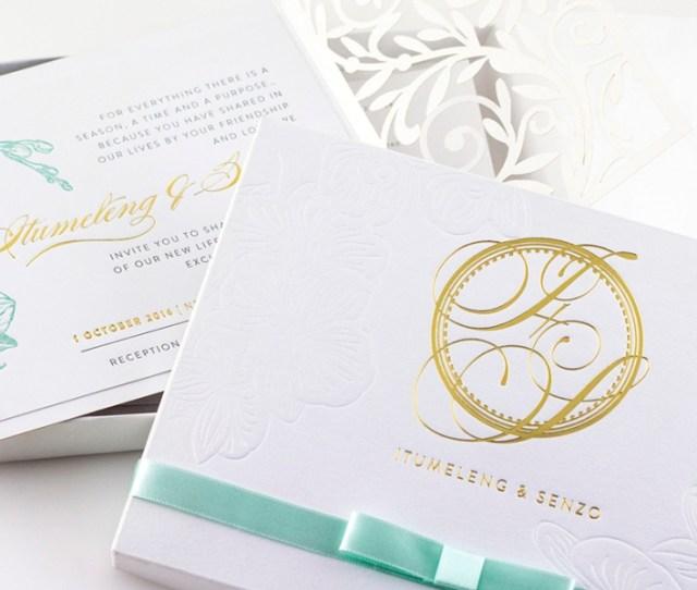 E Store Pick Luxury Senzo Orchid Boxed Invitation