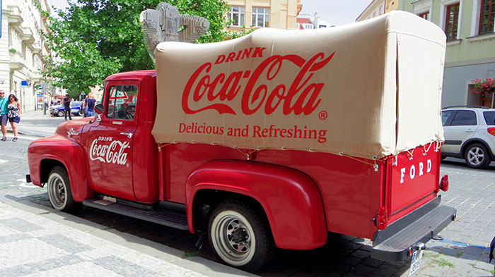 coke van