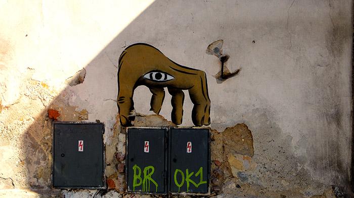 graffitti hand