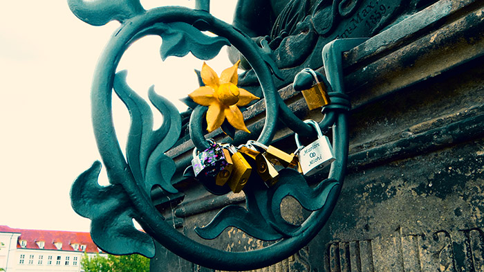 locks on charles bridge