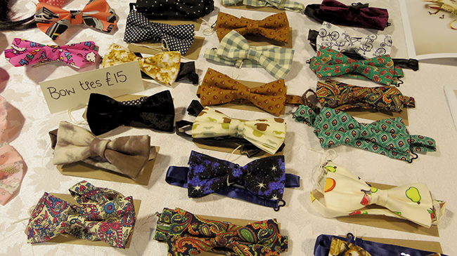 bow tie craft fair luton