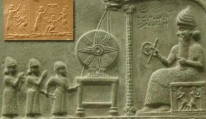 Sumer, Sippar - Zeul Shamash urias - 3.500 i.Hr.