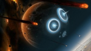 war outer space explosions planets battles science fiction meteor shower meteoroid skies 1920x108_wallpaperswa.com_25