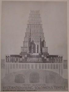 Masonic Bible - Solomons Temple
