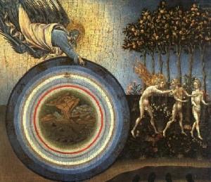 """""""Gonirea din Eden"""" de Giovanni di Paolo (1445)"""