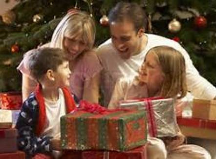 Family with Presents 2