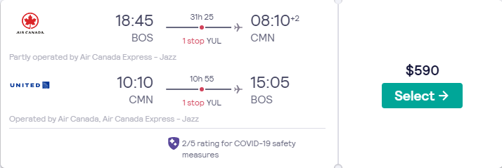 Price screenshot