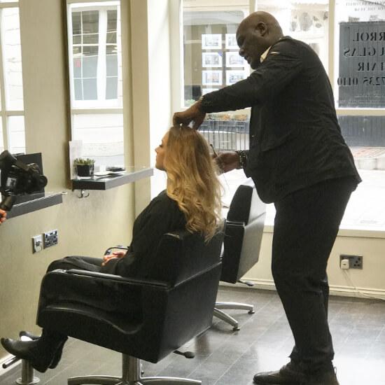 Errol Douglas Secret Hair Extensions Brand Ambassador