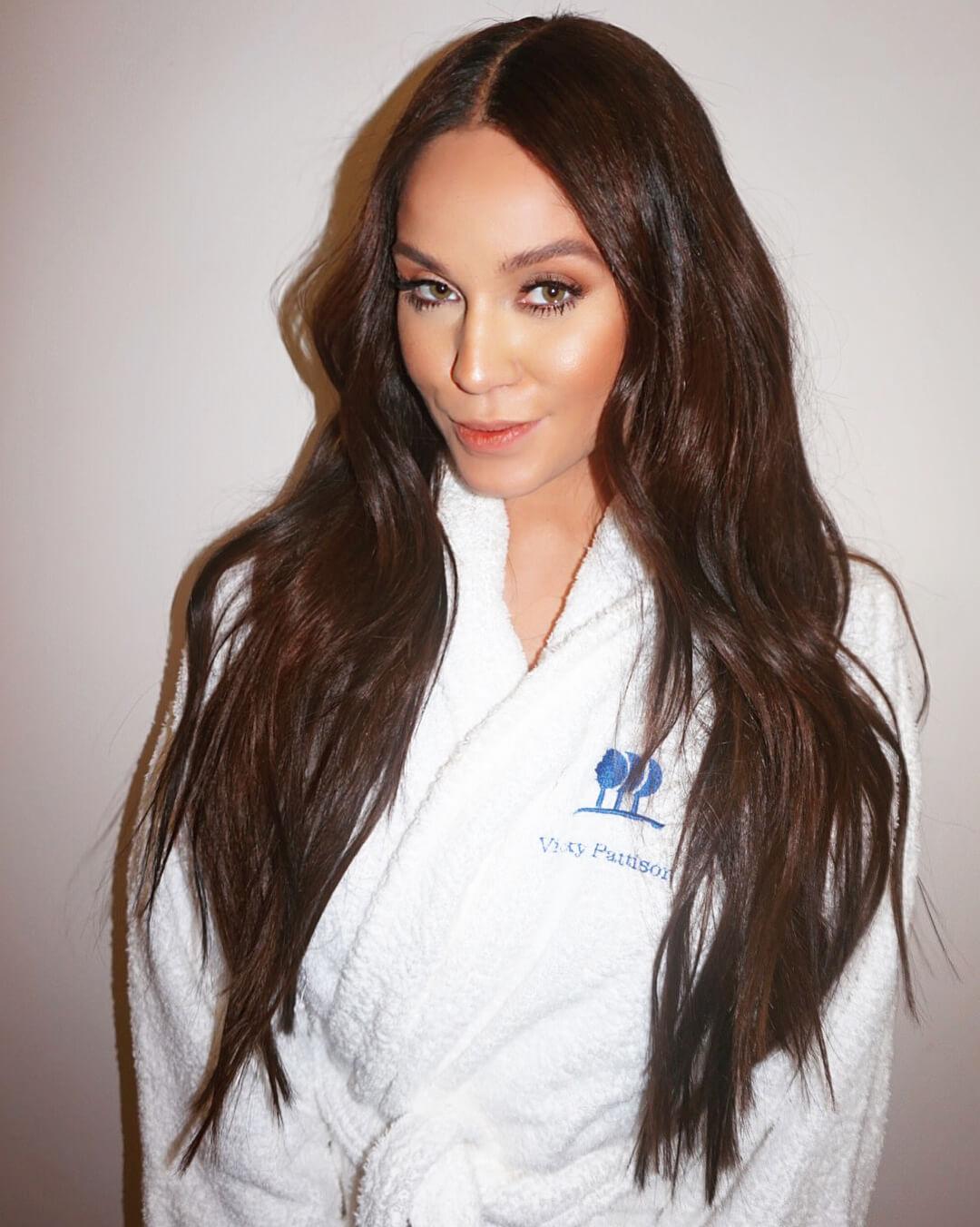 Vicky Pattison Secret Hair Extensions