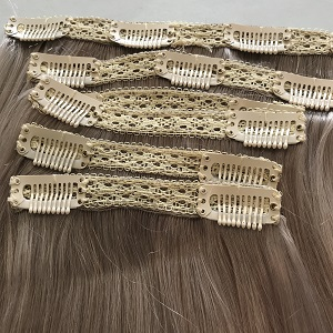 clip in remyhair extensions grey
