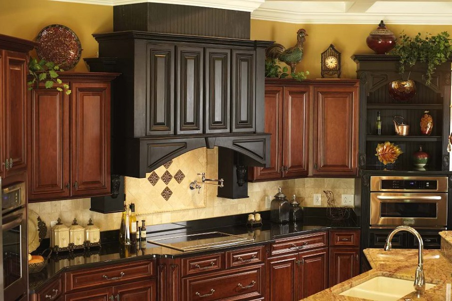 above kitchen cabinet decor on kitchen design ideas photos and videos hgtv id=23479