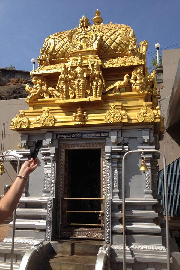 Одно из святилищ храма, здесь «живет» богиня, помогающая в женских вопросах.