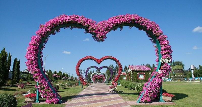 Ландшафтный парк в селе Ковалевка