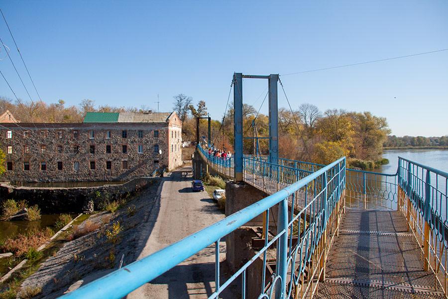 Двойная водяная мельница в Городище-Пустоваровском