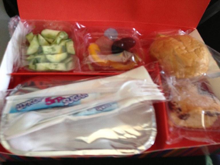Еда в самолете windrose