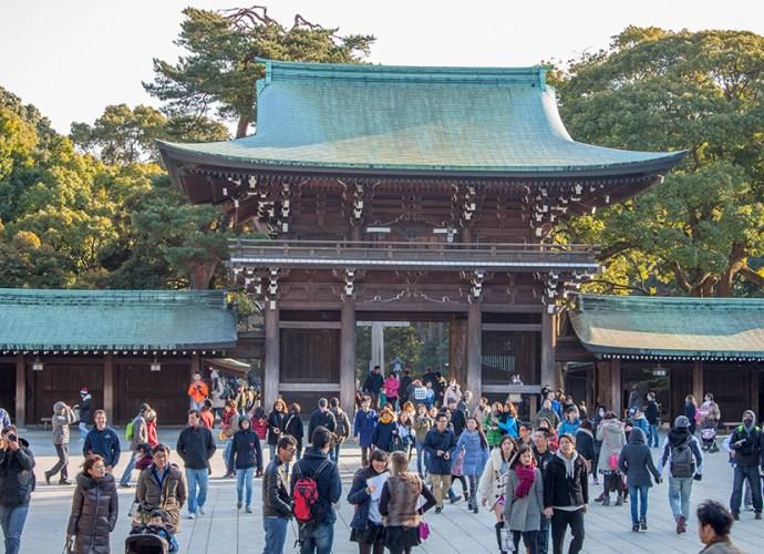 Meiji Shrine — Храм Мэйдзи