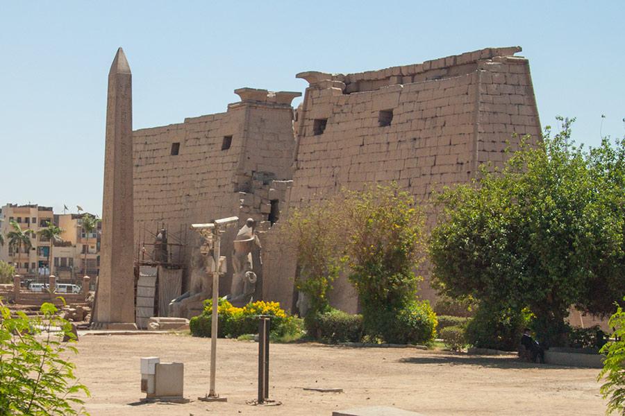 Северный вход в Луксорский храм