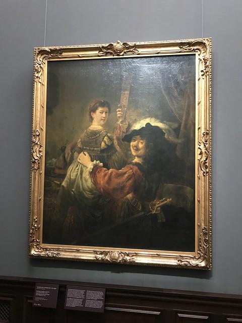 Блудный сын в таверне, Рембрандт.