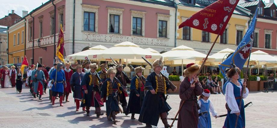 Фестиваль исторической реконструкции в Замостье