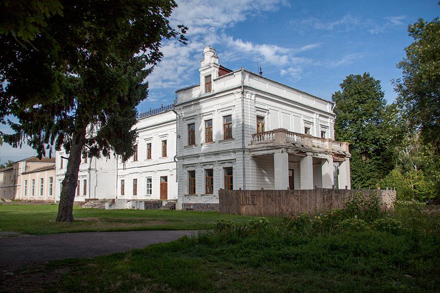 Дворец в Андрушевке