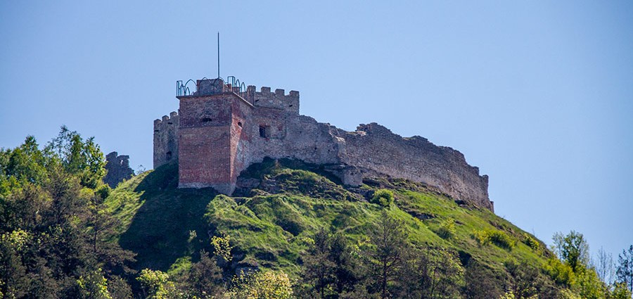 Замок в Кременце — замок Бона Сфорца