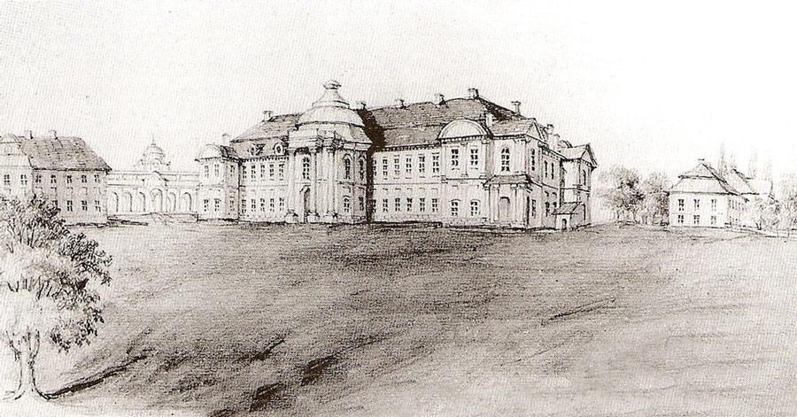 Дворец князей Сангушко