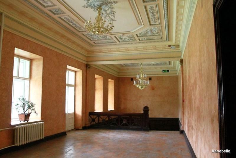 Качановка внутри дворца