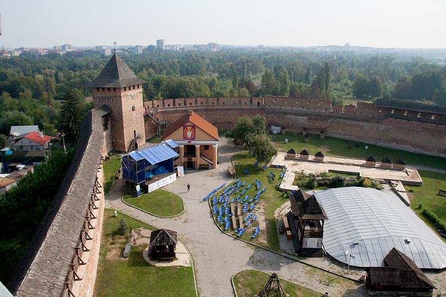 Луцкий замок — замок Любарта