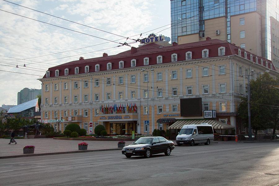 Отель Украина в Ровно