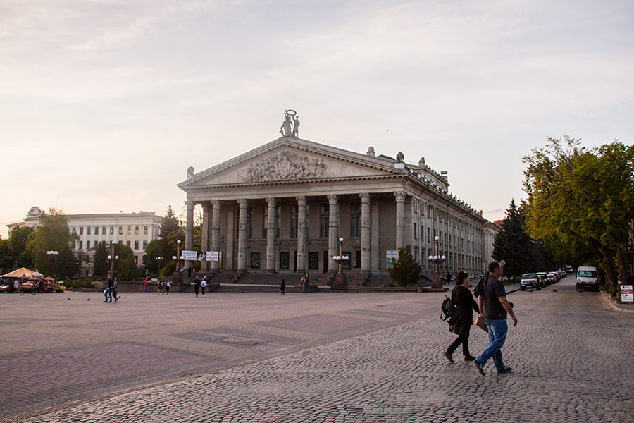 Театр в Тернополе