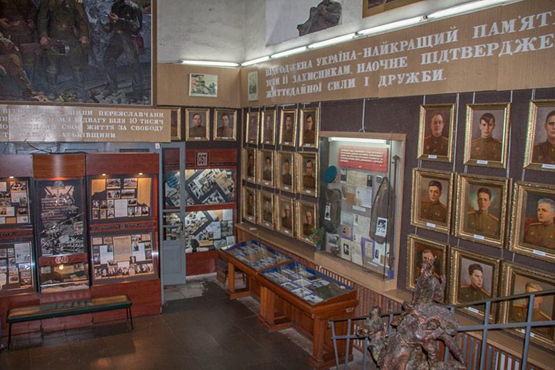 """Музей-диорама """"Букринский плацдарм"""" в Переяславе-Хмельницком"""