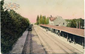 Старе фото станції в Боярці