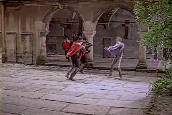 Кадр з фільму Три мушкетери