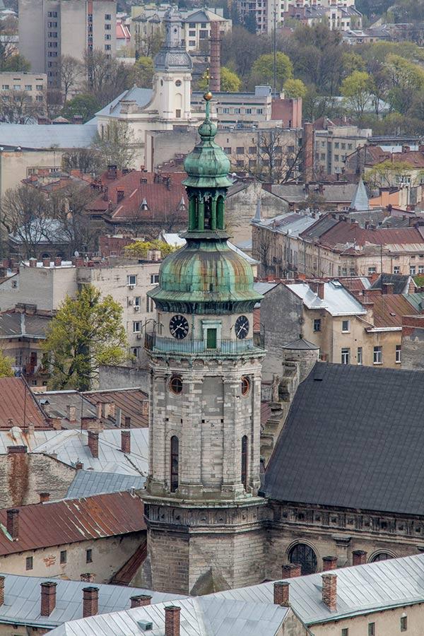 Колокольня Бернардинского монастыря