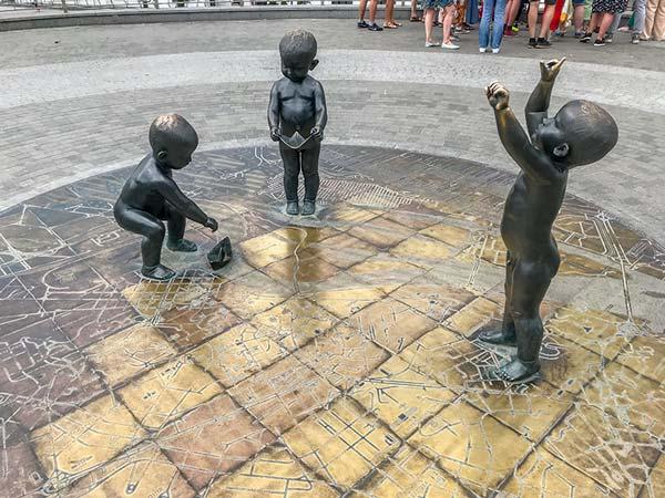 Маленькие основатели Киева
