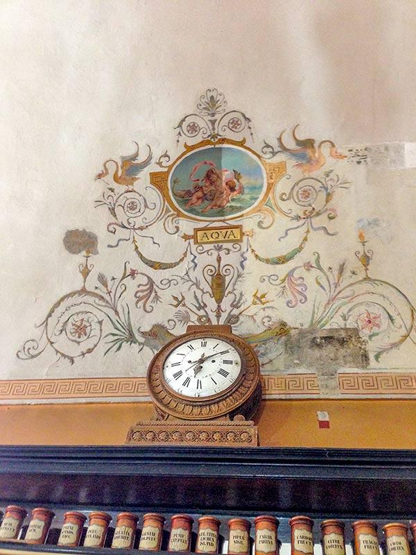 Рисунки в музее-аптеке