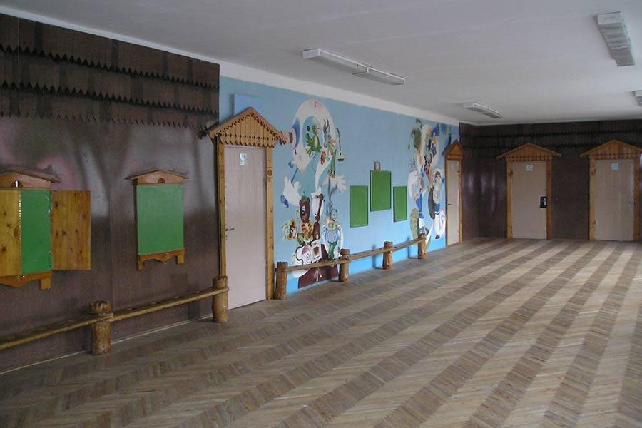Второй этаж младшей школы