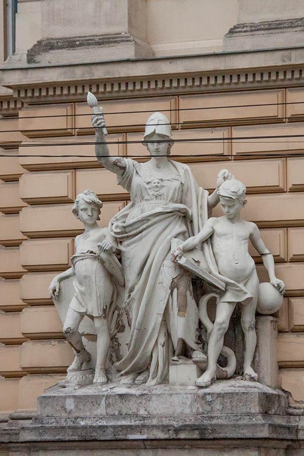 Скульптурная группа Образование