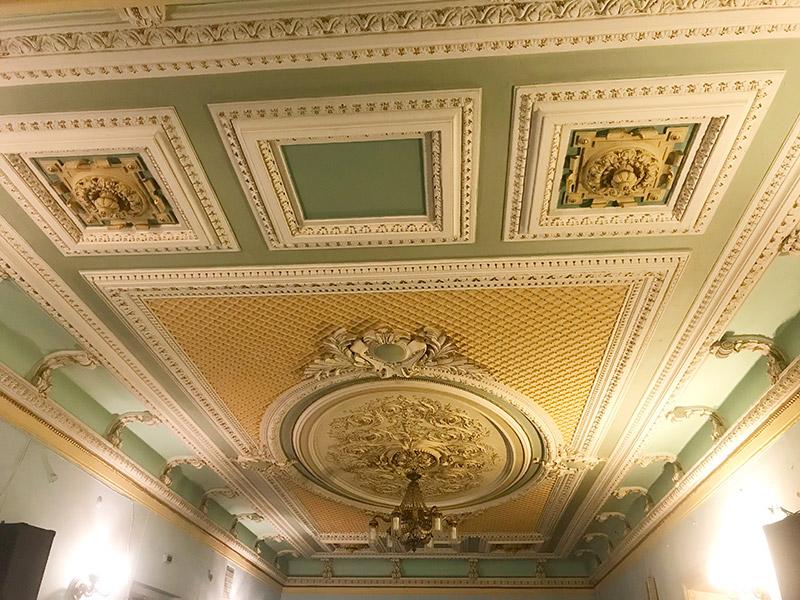 Потолок в столовой Либермана