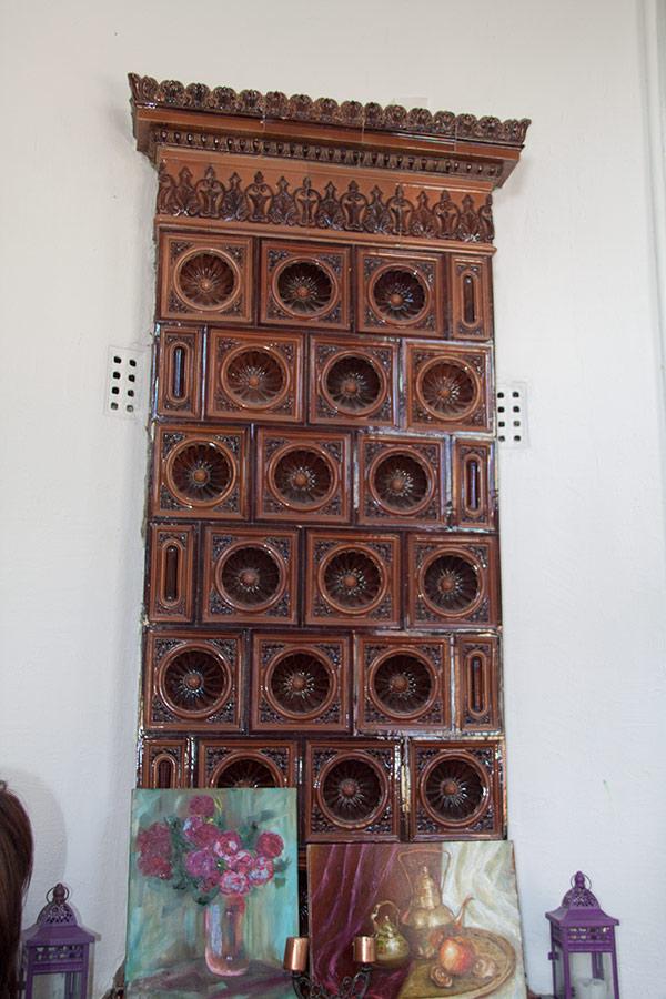 Печь в доме Подгорского