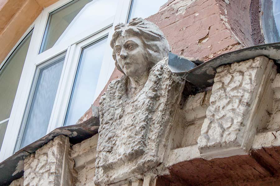 Рея, здание Колыбель духа на Городецкого, 15
