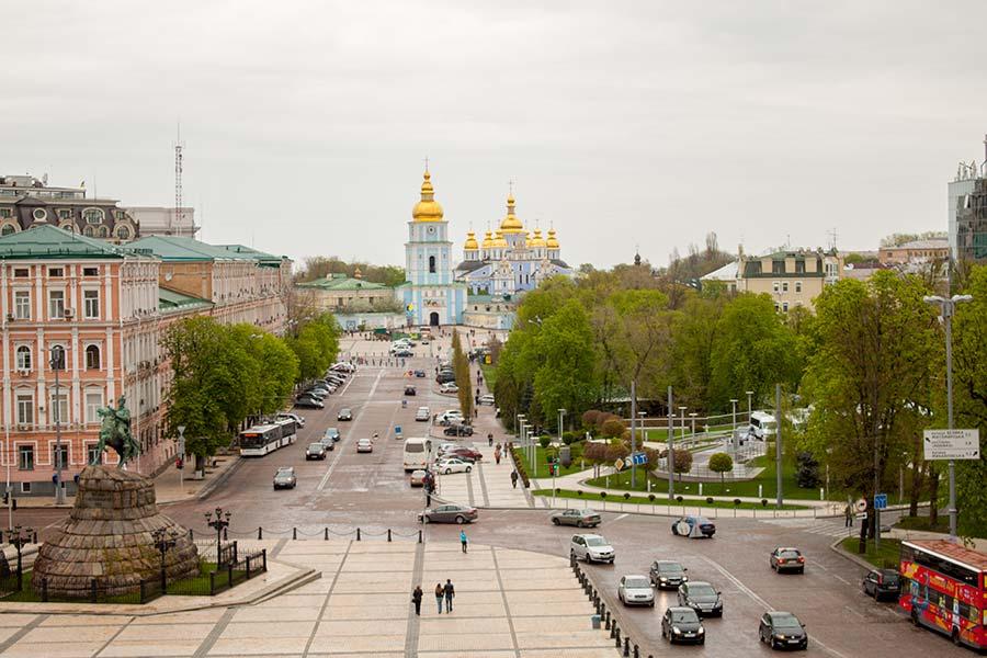 Колокольня в Софии Киевской