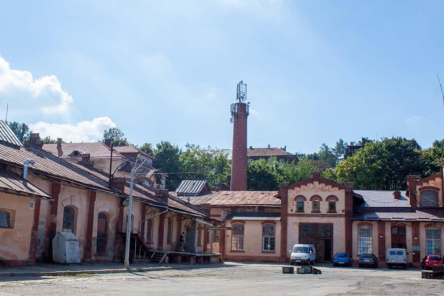Трамвайное депо во Львове