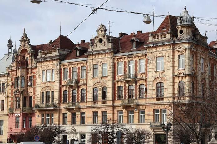 Дом на Галицкой площади.