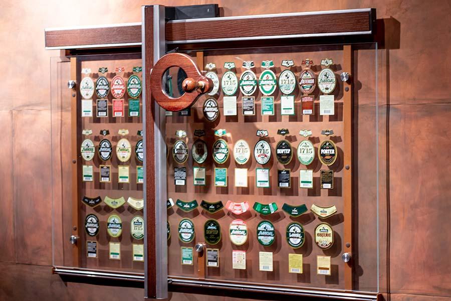 Пивные этикетки музей пива Львов