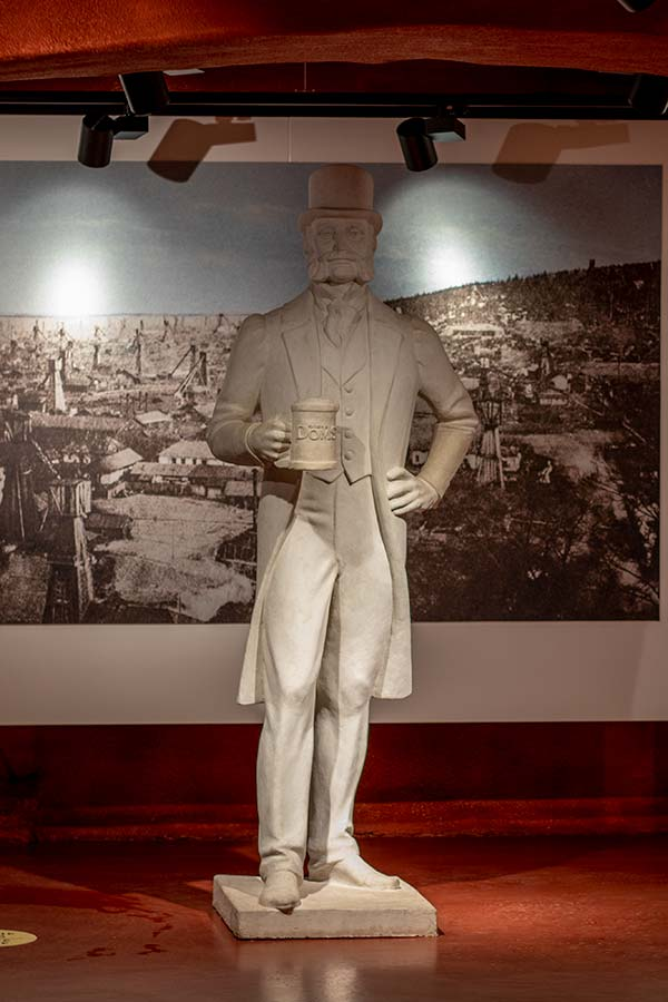 Статуя Роберта Домса