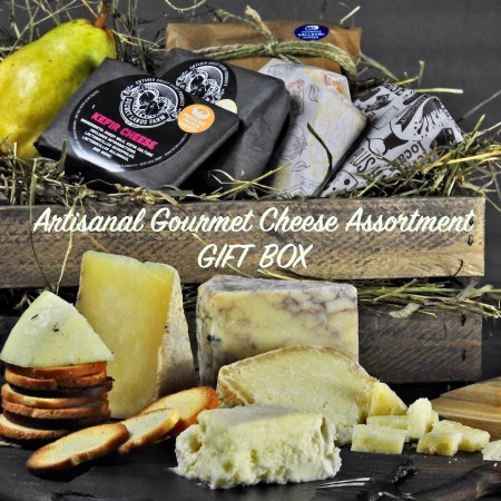 Artisanal Gourmet Cheese Assortment