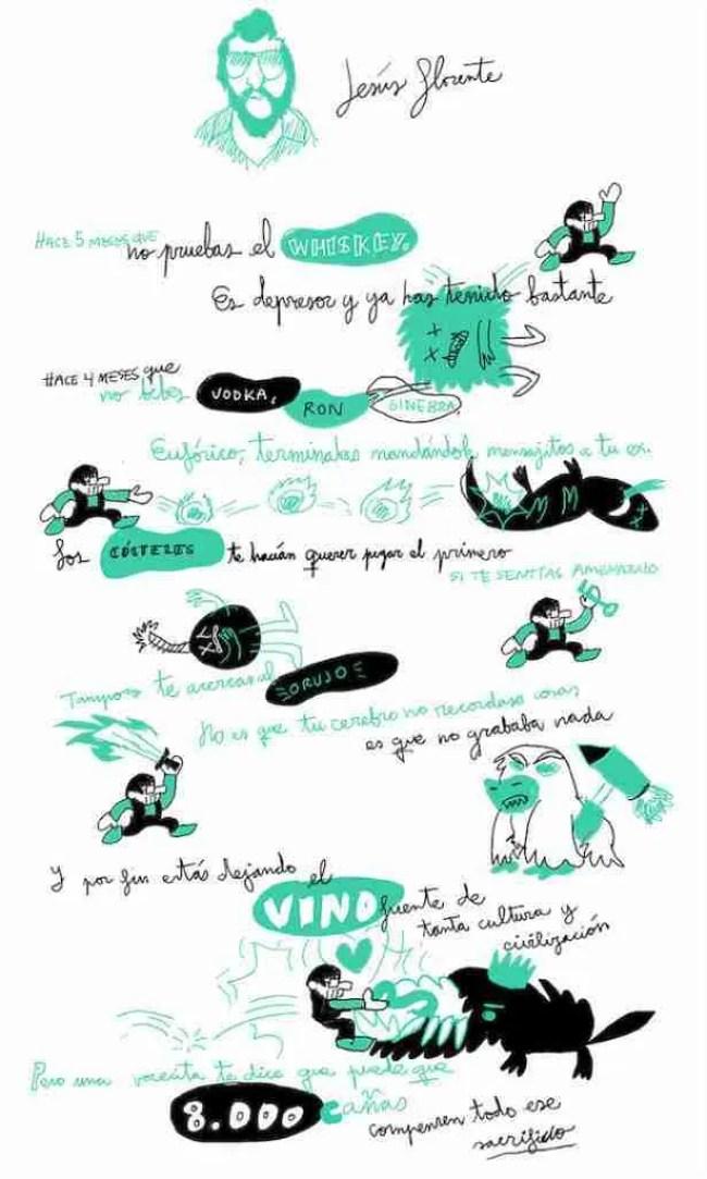 Autoayuda Ilustrada 28 Un cómic de Jesús Llorente y Wences Lamas