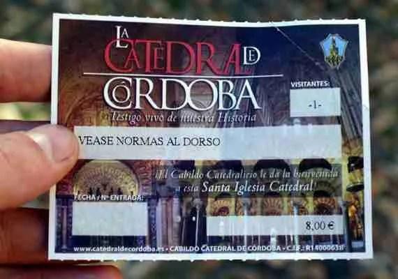 """Entrada de """"La Catedral de Córdoba"""""""