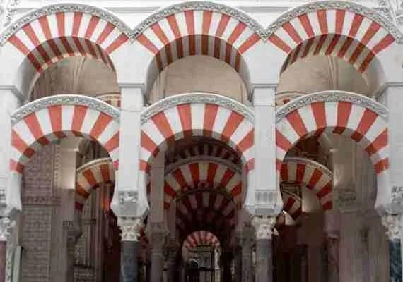 mezquita de cordoba, arcos
